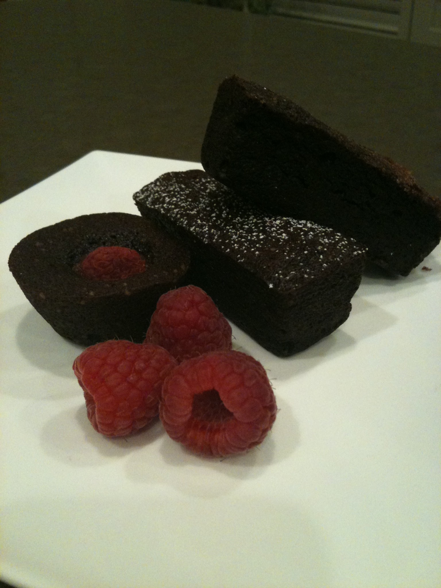 Chocolate Financiers - Gluten Free