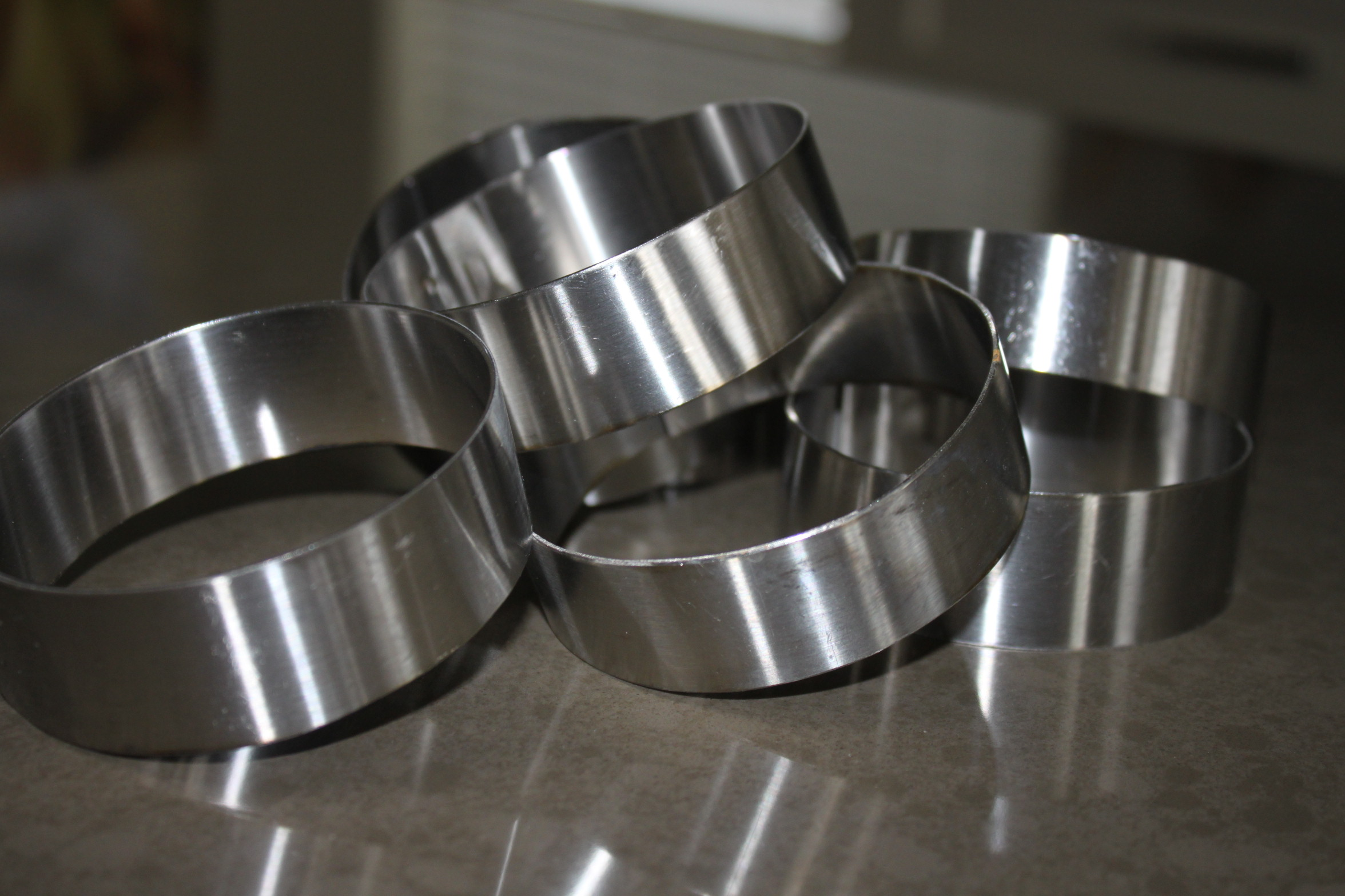 Stainless steel rings | urbnspice.com