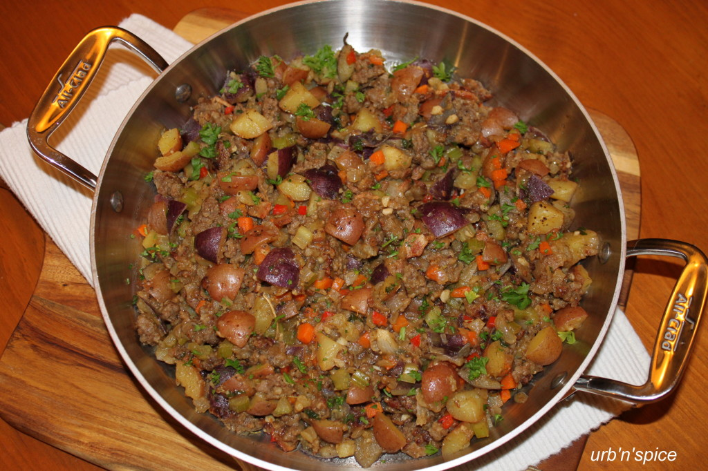 "The Potato ""No Bread"" Stuffing - a Great Make Ahead Dish for the Holidays!"