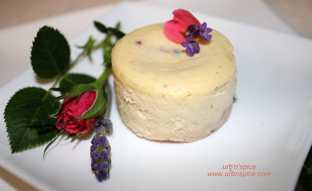 Lavender Rose Cheesecake
